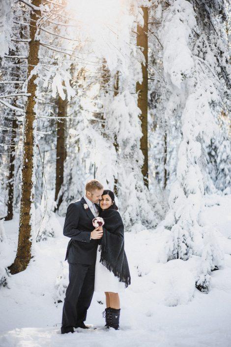 Winterhochzeit am Reinischkogel