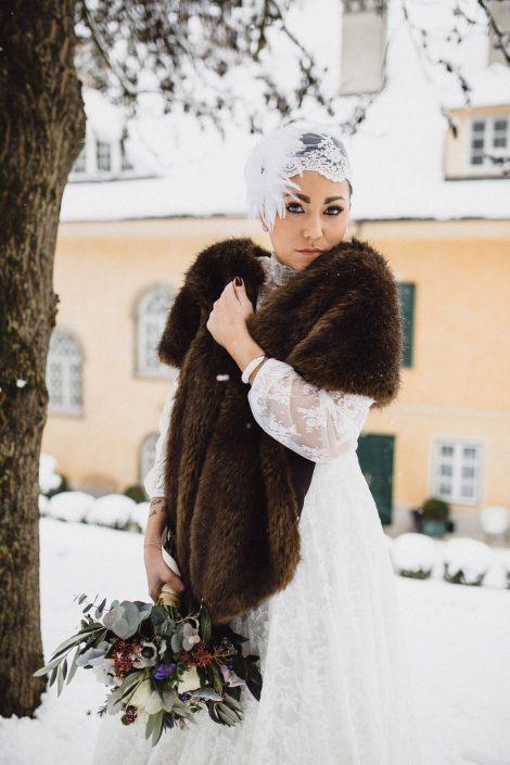 Winter Hochzeit Outfit