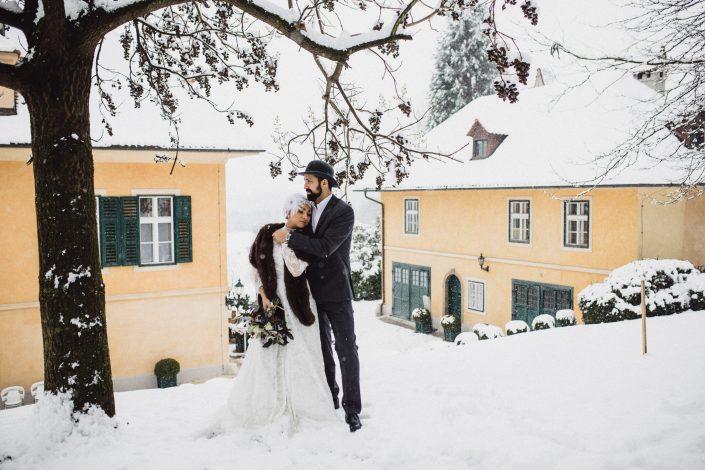 Winterhochzeit Styling